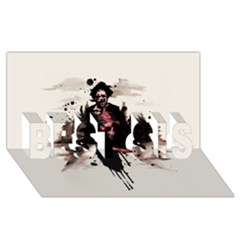 Leatherface 1974 BEST SIS 3D Greeting Card (8x4)