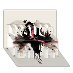 Leatherface 1974 You Did It 3D Greeting Card (7x5)