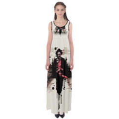 Leatherface 1974 Empire Waist Maxi Dress