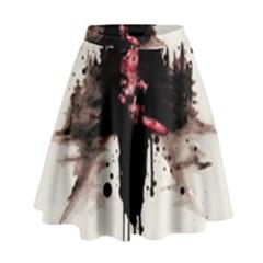 Leatherface 1974 High Waist Skirt