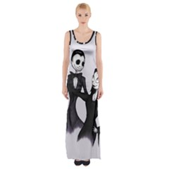 Jack & Sally Addams  Maxi Thigh Split Dress