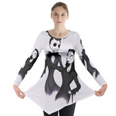 Jack & Sally Addams  Long Sleeve Tunic