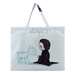 Always... Zipper Large Tote Bag