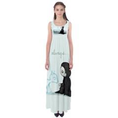 Always... Empire Waist Maxi Dress