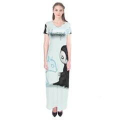 Always    Short Sleeve Maxi Dress