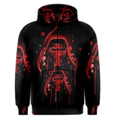 Bad Grandson Men s Zipper Hoodie