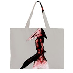 Pyramid Head Drippy Large Tote Bag