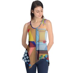 Pablo Et Moi Sleeveless Tunic By Jocelyn Apple/appleartcom