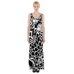 Coloring70swallpaper Maxi Thigh Split Dress