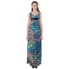 Babybluebubbles Empire Waist Maxi Dress