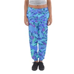 Blue Confetti Storm Women s Jogger Sweatpants