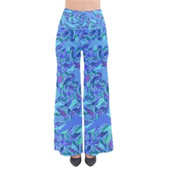 Blue Confetti Storm Pants
