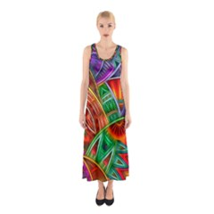 Happy Tribe Sleeveless Maxi Dress