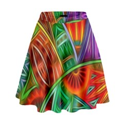 Happy Tribe High Waist Skirt