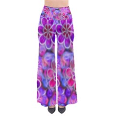 Pretty Floral Painting Pants