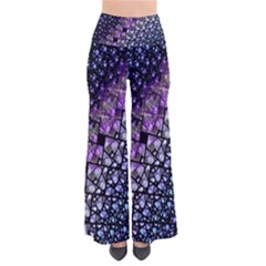 Dusk Blue And Purple Fractal Pants