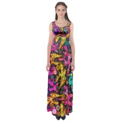 Midnight Dancers Empire Waist Maxi Dress