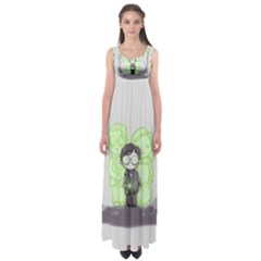 Sorcerer s Stone  Empire Waist Maxi Dress