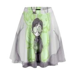 Sorcerer s Stone  High Waist Skirt