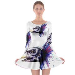 Skeksis Long Sleeve Skater Dress
