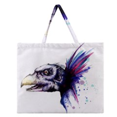 Skeksis Zipper Large Tote Bag