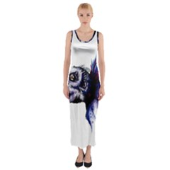 Skeksis Fitted Maxi Dress