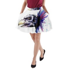 Skeksis A-Line Pocket Skirt