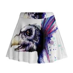 Skeksis Mini Flare Skirt