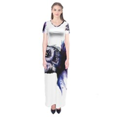 Skeksis Short Sleeve Maxi Dress