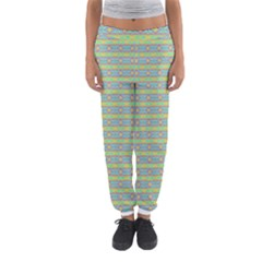 Abstract Rainbow Butterfly Vivid Colorful Cute Women s Jogger Sweatpants