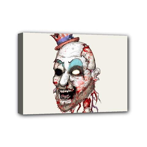 Captain Zombie Mini Canvas 7  x 5
