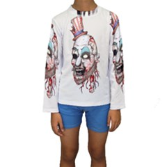 Captain Zombie Kid s Long Sleeve Swimwear