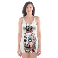 Captain Zombie Skater Dress Swimsuit