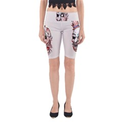 Captain Zombie Yoga Cropped Leggings