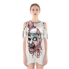 Captain Zombie Cutout Shoulder Dress
