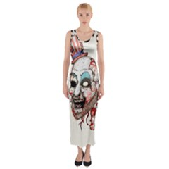 Captain Zombie Fitted Maxi Dress
