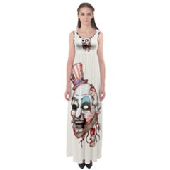 Captain Zombie Empire Waist Maxi Dress