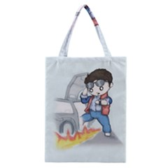 Back To The Plushie Future Classic Tote Bag