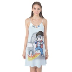Back To The Plushie Future Camis Nightgown