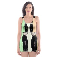 Plushie Saints 2.0 Skater Dress Swimsuit