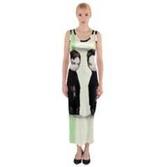 Plushie Saints 2.0 Fitted Maxi Dress