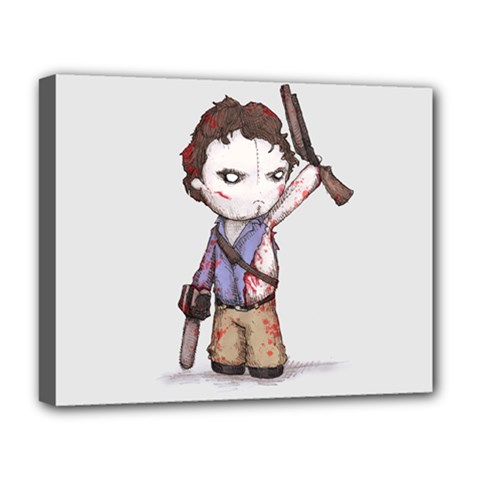 Plushie Boomstick Deluxe Canvas 20  x 16