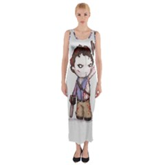 Plushie Boomstick Fitted Maxi Dress