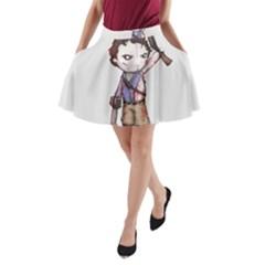 Plushie Boomstick A-Line Pocket Skirt