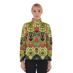 Petals   Retro Yellow   Bold Flower Design Winterwear