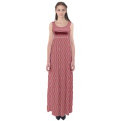 Head Strong Empire Waist Maxi Dress