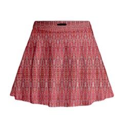 Head Mind Mini Flare Skirt