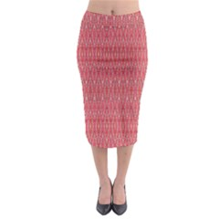 Head Mind Midi Pencil Skirt