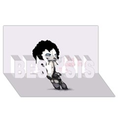 Rocky Horror Plush  BEST SIS 3D Greeting Card (8x4)