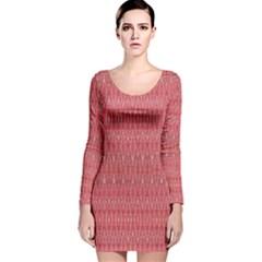 HEADING UP Long Sleeve Velvet Bodycon Dress